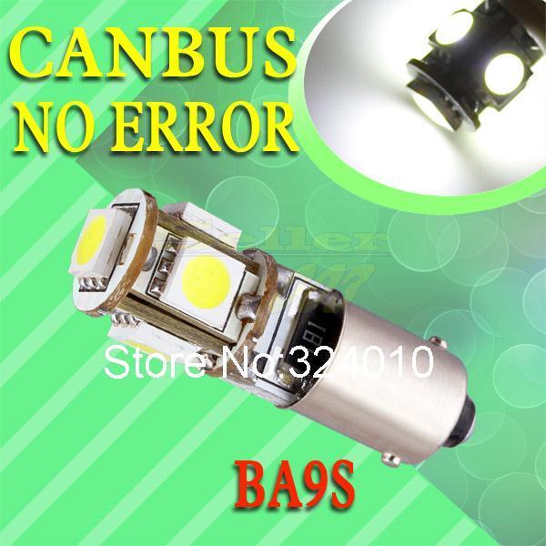 Источник света для авто SD 10 BA9S 5 SMD CANBUS OBC T4W источник света для авто sd 18smd 5050 t10 ba9s w5w c5w t4w 12v