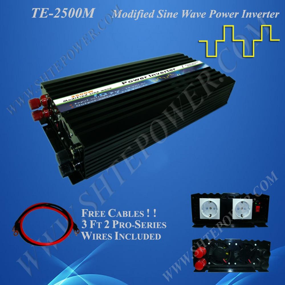 2.5kw hot sell off grid pure sine wave inverter dc 12v to ac 110v/230v 2500w electrical inverter(China (Mainland))