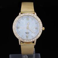 2014 new Free shipping stainless steel watches women dress watches women rhinestone watches diamond bracelet gemstone