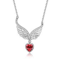 Fashion pendant austria crystal lovers  Women accessories short design chain girlfriend gifts