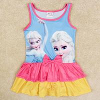 frozen swimsuit summer frozen swimwear for girls nova children swimwear kids bikini set girls swimwear R5275