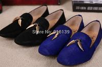 2014 Summer Fashion Men Flats Horsehair Slip-on Casual Sneakers Little Pepper Decoration Men Dress Shoes Plus Size 39-46 Shoes