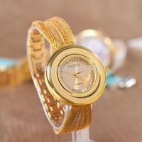 Free shipping 2014 new Ladies wrist watches top quality bracelet watch Quartz watch women men famous brand dress watch