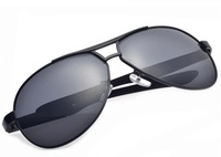 Free Shipping Factory Direct New Arrival Polarized Sunglasses Men Outdoor Driving Eyewear UV400 A193 Black Color