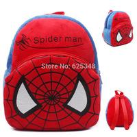 2014 Fashion Spider-man Kids Backpack, school backpacks for boys, Children School Bags mochilas mochila infantil