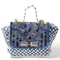 Summer Fashion Luxury bags handbags women famous brands casual rhinestone diamante totes