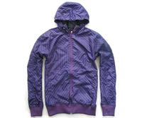 M440 New Mens Sport Jackets Strip Line Windproof Waterproof Hoodies inside US/EUR Size