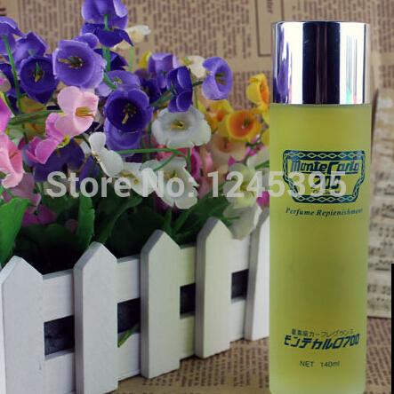 High Quality 100% Original Pure Lemon Balm Refreshing Car lemon perfume for Car & Home Use Free Shipping(China (Mainland))