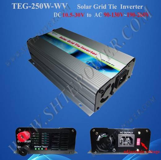 switch250w grid tie inverter dc to 110v/120v/220v/230v/240v ac power inverter(China (Mainland))