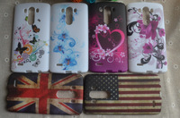 Fashion Flower Floral Butterfly Heart Star Zebra UK USA Flag TPU Soft Case Cover Shell For LG Optimus G3 D830 D850 D831