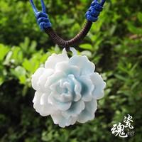 Handmade!!fashion necklace ceramic flower necklace style3 women free shipping