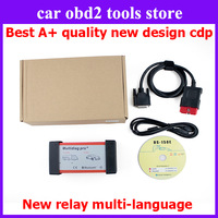 DHL free 2014 New bluetooth tcs CDP pro 2014.2 cdp pro with 4G TF card software &install video Multidiag pro+