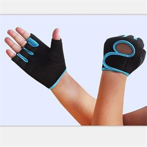 New 2015 Cycling Sport Fitness Gloves/GYM Exercise Half Finger Weight lifting Gloves/Training Accessories M Size(China (Mainland))