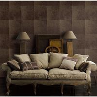 High-end European luxury plaid wallpaper 3D stereoscopic striae bedroom living room TV backdrop wallpaper wall