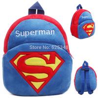 Mini Children baby school backpacks Cute Superman Plush Kids Backpack Boys and Girls Cartoon Bag School bags mochila infantil