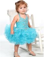 1403210 halter v neckline infant pageant dress