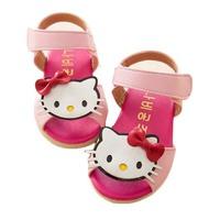 2014 new sweet style princess sandals kitty cat sandals children sandals baby shoes infant sandals children KT shoes