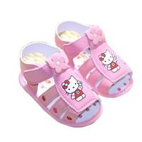 Cartoon baby pink summer sandals toddler shoes baby shoes baby sandals 0-1 years