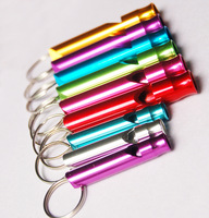 Hot sell Outdoor Survival Whistle 4.6cm Free shipping Wholesale