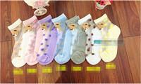 children summer Socks with animal cartoon Outdoor Shoes Children Sock kid's gift for 1-9 years