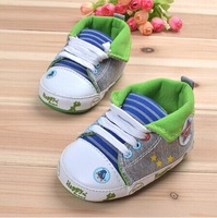 Baby Boys Shoes New Style Cartoon Toddler Shoes Star Pattern Infant First Walkers Shoes Soft Sole Non-Slip 1pcs Free Shipping