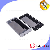 Free Shipping iphoned 5 Battery Cover  Back Glass cover tempered glass stalinite Frame assembly housing