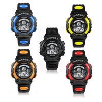2014 New arrival Resuli Hot Sale Waterproof Mens Boy's Digital LED Quartz Alarm Date Sports Wrist Watch Free shipping&Wholesale