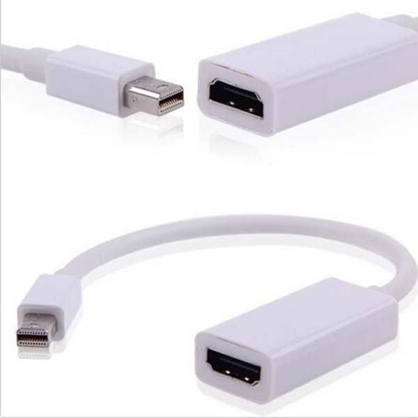 Mini Display Port DP Thunderbolt to HDMI Cable Adapter Audio Video Mac NI DP TO HDMI(China (Mainland))
