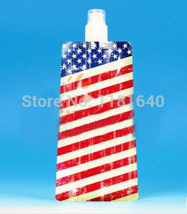 2014 World Cup Newest America/USA/United States flag Fold Hydration(China (Mainland))