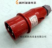 TYP233 16A4 core industrial plug waterproof IP44