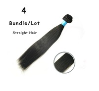 4pcs/lot Unprocessed Virgin Peruvian Hair Straight,Best Selling Queen Hiar Products