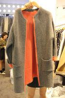 new comin women's contrast lining winter trench, women's winter coat, free shipping plus size coat S/M/L/XL/XXL free shipping