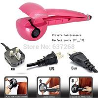 10pcs/lot APPAREILS FER BOUCLEUR AUTOMATIQUE ROSE MACHINE AUTO HAIR ROLLER ROSE