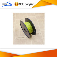 High Quality 3D Printer Filament ABS 50m For  3D printer  Perfectly High Quality Yellow Color Consumables