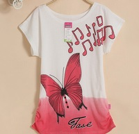 2014 new women clothes women t shirts brand cotton T-shirt women printed with fashion cartoon one size only