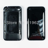 free shiping  for Iphone 3G 10pcs  Back cover housing 8GB Black housing