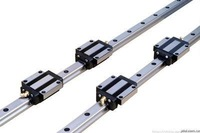 linear guide rail HGR15 400mm long with 2 pcs of linear block carriage HGH15CA hgw15 CNC parts