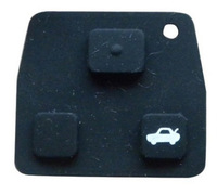 Brand New Replacement Remote Rubber 2 / 3 Button For Toyota