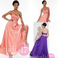 Simple Design A Line Sweetheart Prom Dresses Big Discount Cheap Prom Gowns Keyhole Back Newest