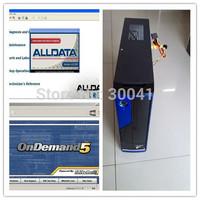 Installed Well 2014 Alldata 10.53 Repair Software + Mitchell On Demand Auto Repair Software In 2TB HDD +MINI Desktop Computer