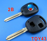 BRAND NEW Replacement Shell Remote Key Case Fob for TOYOTA Prado Tarago Camry Corolla 2BTN