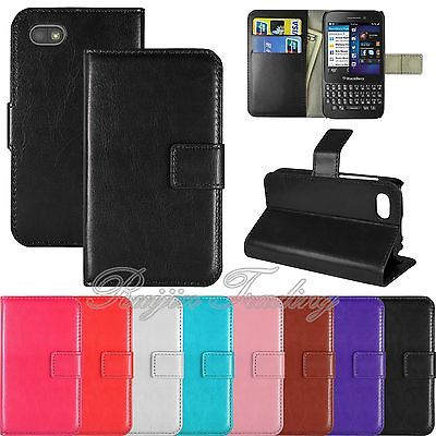 New Hot Sale Book Flip PU Leather Wallet Case Cover Smart phone cases Stand Pouch For Blackberry Q5 Free Shipping(China (Mainland))