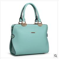 "2014 new fashion hand the bill of lading shoulder his temperament lady handbags high quality designer bags ""women handbag"