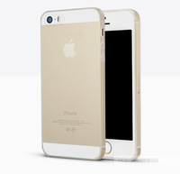 Ultra Thin 0.3mm Slim Transparent Crystal Clear TPU Soft Silicon Phone Cases For iphone 5 5s iphone5s Case With Tracking Number