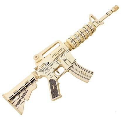 2015-Popular-Military-Model-DIY-3D-Wood-Gun-Puzzle-Toy-Educational ...