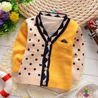 Free shipping 2014 Autumn New children sweater,baby boys fashion cardigan sweater#Z665