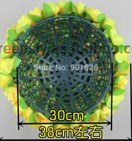 20cm Bladder Rack  of artificial flowers wedding flower ball rack ball rack plastic bladder