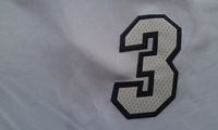Heat Wade the number 3 shirt Cheap Basketball Jersey Wade New Rev 30 Embroidery Logo, Mens S-3XL Free Shipping