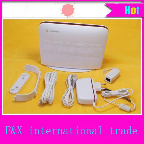 vodafone huawei hg556a wireless router gateway ADSL MODEM 3g usb card lan interface 4 IPTV support tel fax Print service VOIP(China (Mainland))