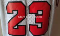 Chicago 23 Michael Jordan Basketball Jersey, Cheap MESH Red White Black (4 Kinds) Michael Jordan Jersey, S-XXL Free Shipping